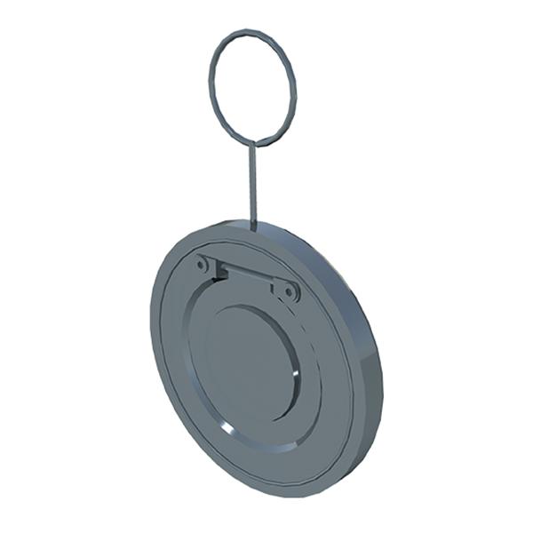 Обратный клапан межфланцевый хлапушка металл редак