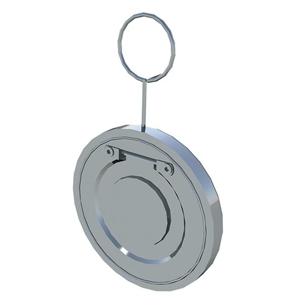 Обратный клапан межфланцевый хлапушка пластик редак
